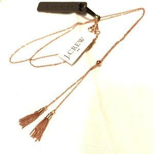 🔥NEW!🔥 J.Crew Tassel Chain Necklace
